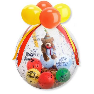 Stuffer-Ballon Happy Birthday | Blumen Online bestellen